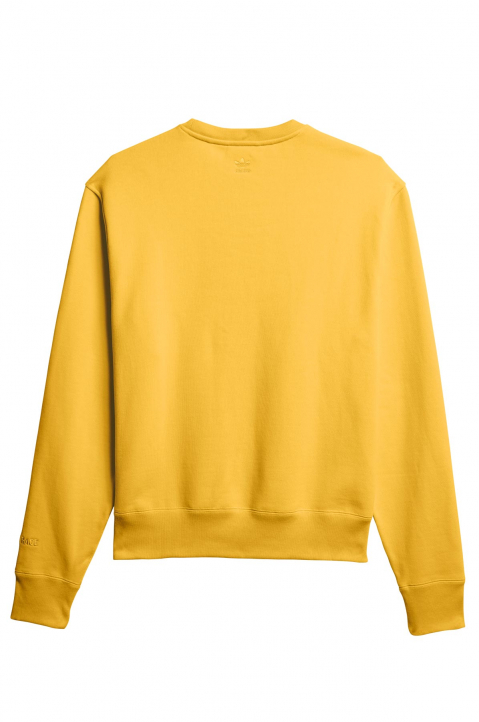 ADIDAS X PHARRELL WILLIAMS Human Race Premium Basics Yellow Sweatshirt 1