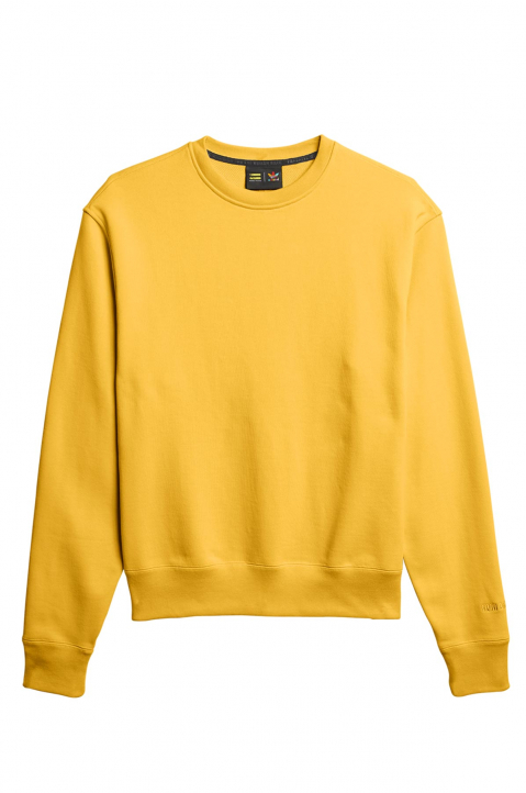 ADIDAS X PHARRELL WILLIAMS Human Race Premium Basics Yellow Sweatshirt 0