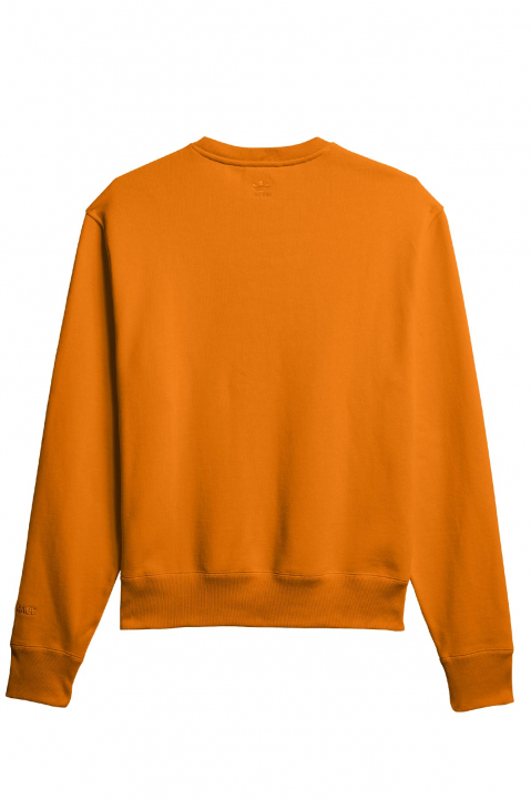 ADIDAS X PHARRELL WILLIAMS Human Race Premium Basics Orange Sweatshirt 1