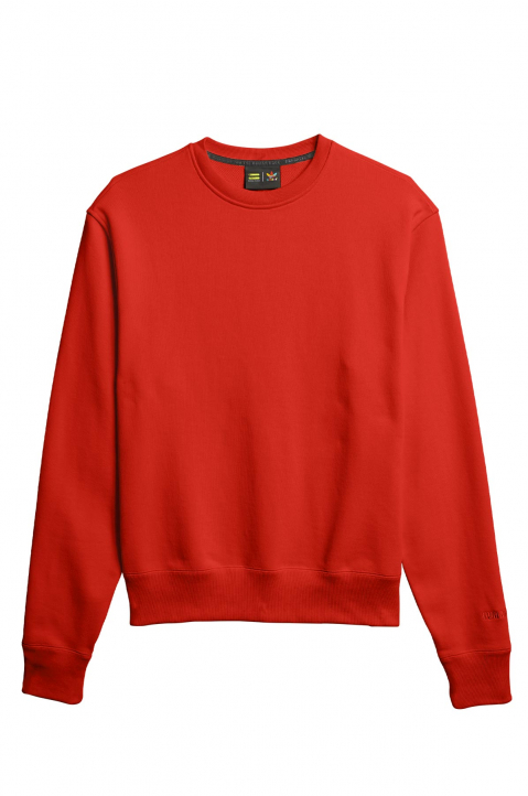ADIDAS X PHARRELL WILLIAMS Human Race Premium Basics Red Sweatshirt 0