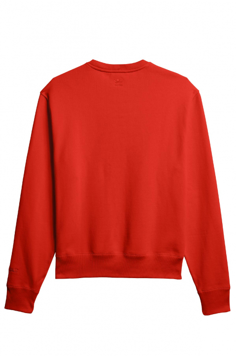 ADIDAS X PHARRELL WILLIAMS Human Race Premium Basics Red Sweatshirt 1