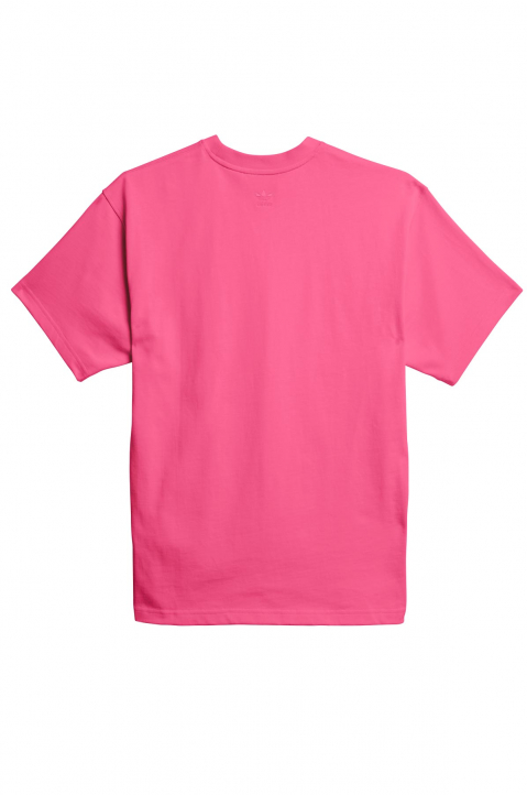 ADIDAS X PHARRELL WILLIAMS Human Race Premium Basics Pink Tee 1