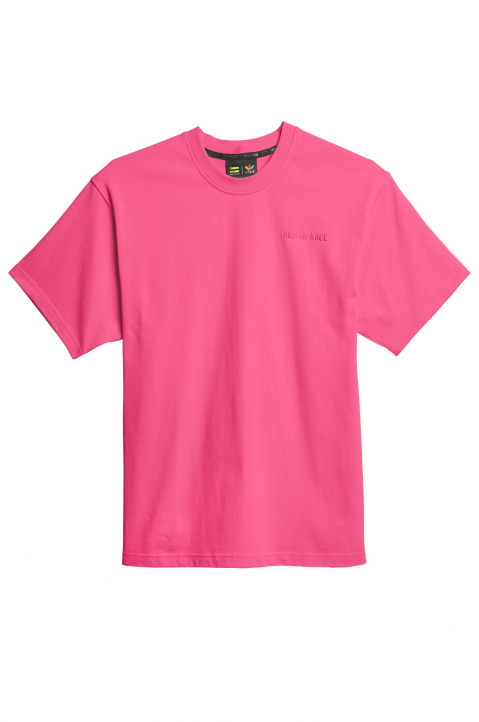 ADIDAS X PHARRELL WILLIAMS Human Race Premium Basics Pink Tee 0