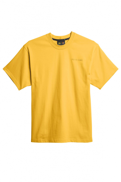 ADIDAS X PHARRELL WILLIAMS Human Race Premium Basics Yellow Tee 0