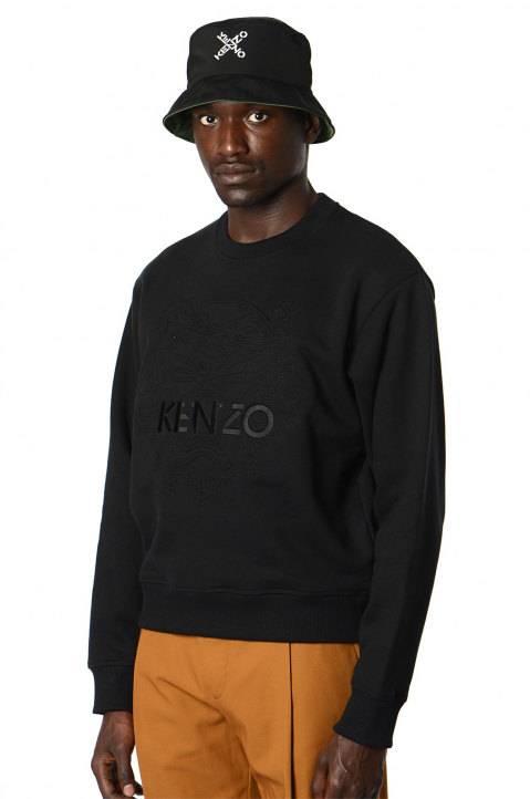KENZO All Black Classic Tiger Sweatshirt 0