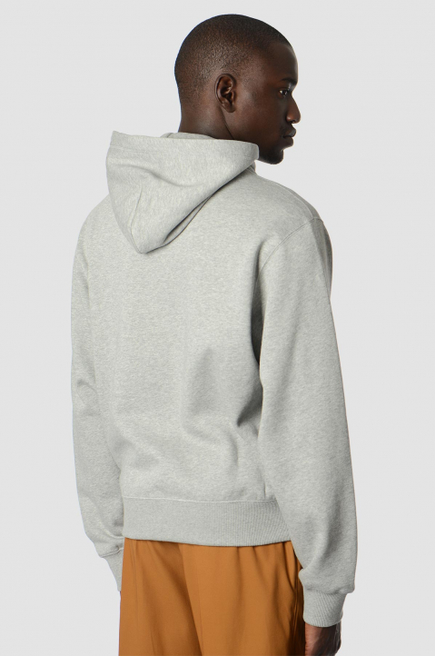 KENZO Embroidered Logo Grey Hoodie 1