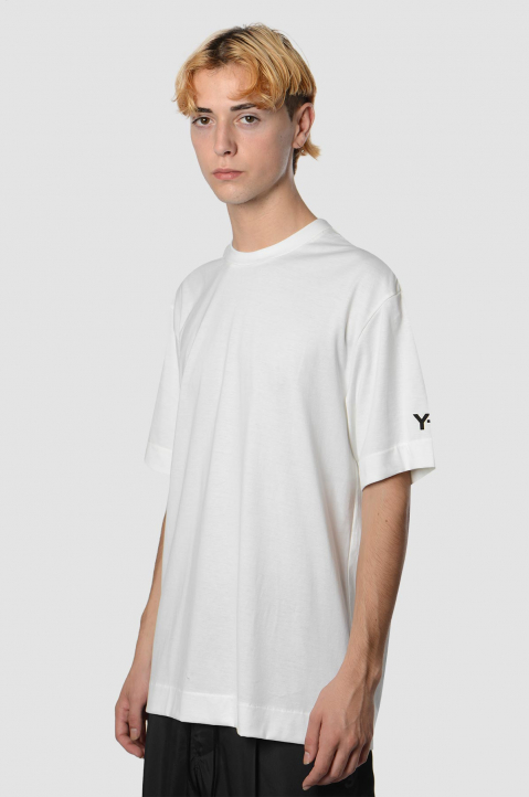 Y-3 CH2 White Graphic Tee 1