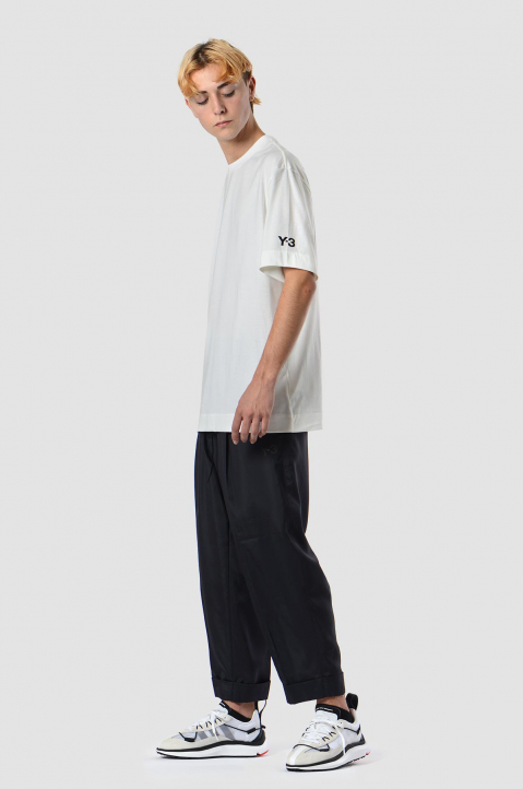 Y-3 CH2 White Graphic Tee 3