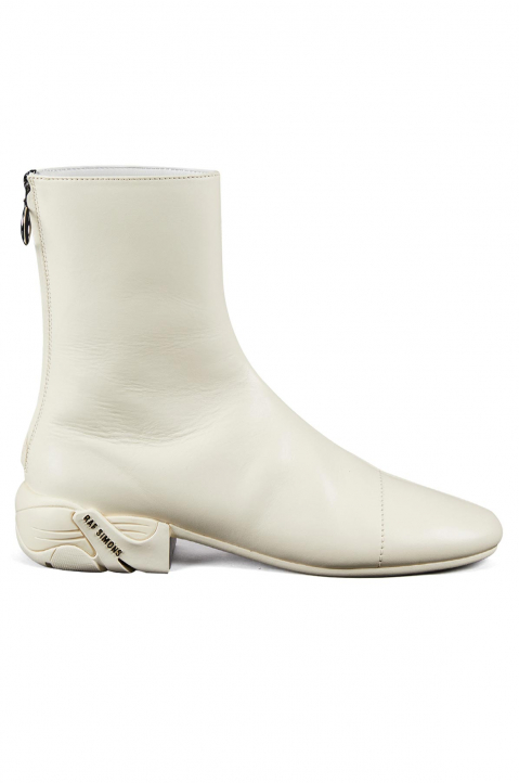 RAF SIMONS Runner Solaris High Cream Boots  0