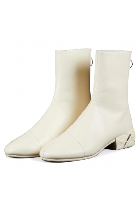 RAF SIMONS Runner Solaris High Cream Boots  1