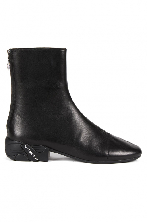 RAF SIMONS Runner Solaris High Black Boots  0