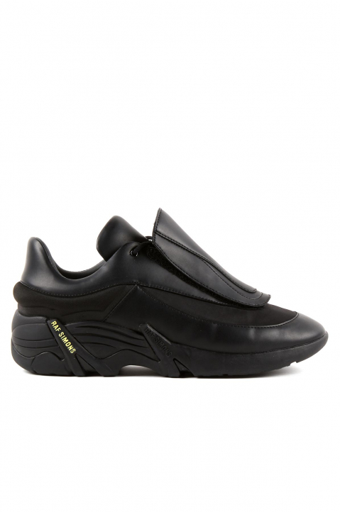 RAF SIMONS Runner Antei Black Sneakers 0