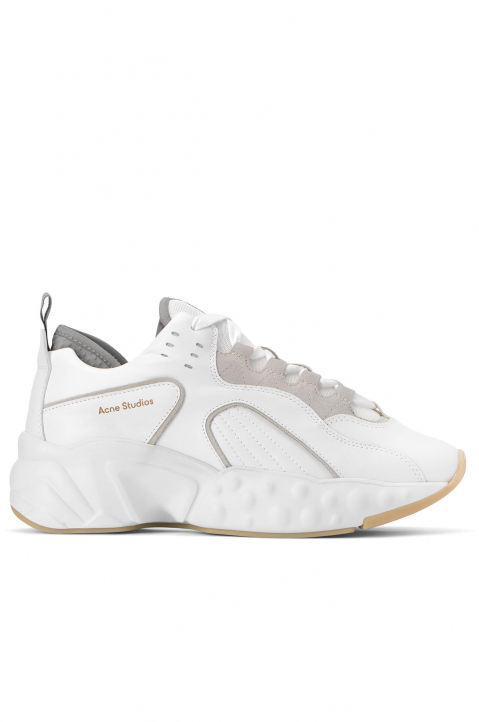 ACNE STUDIOS Rockaway White Leather Sneakers  0