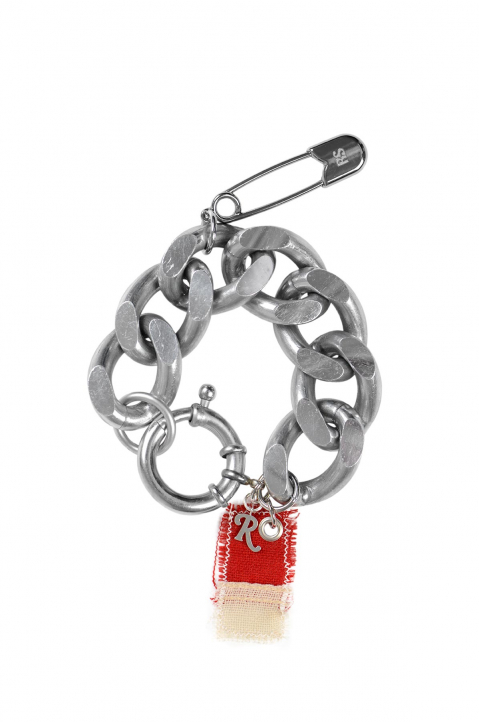 RAF SIMONS Red Big Charm Bracelet  0
