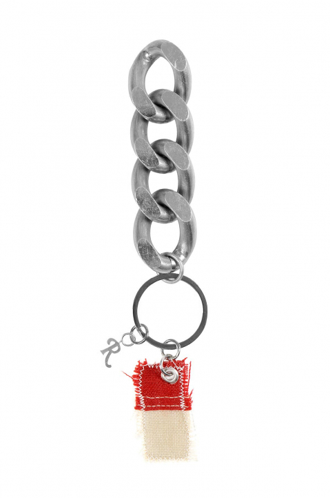 RAF SIMONS Flag Key Chain 0
