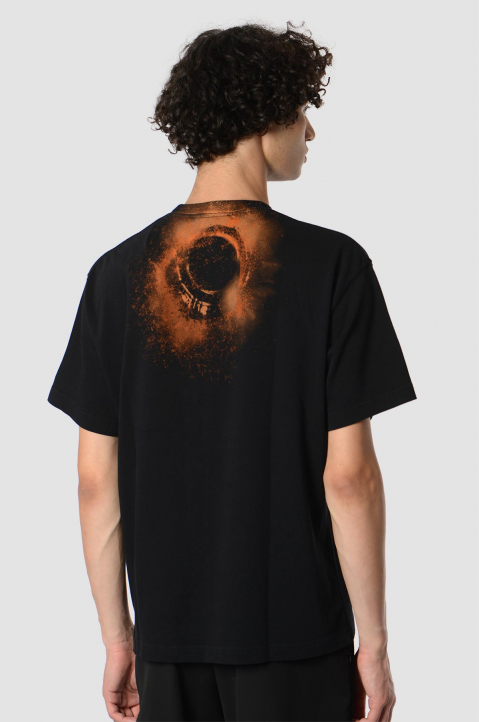 A-CPLD-WALL* Erosion Black Tee 1