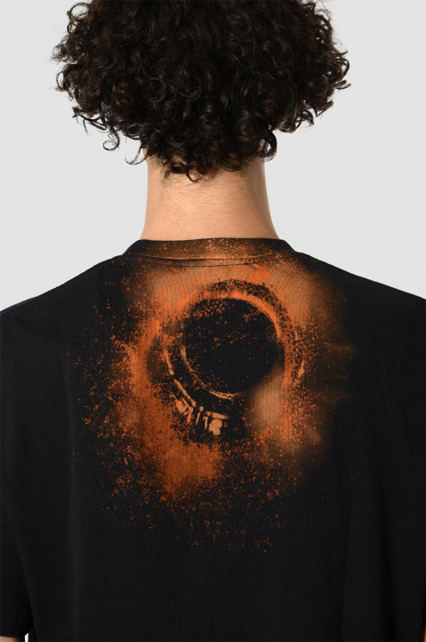 A-CPLD-WALL* Erosion Black Tee 2