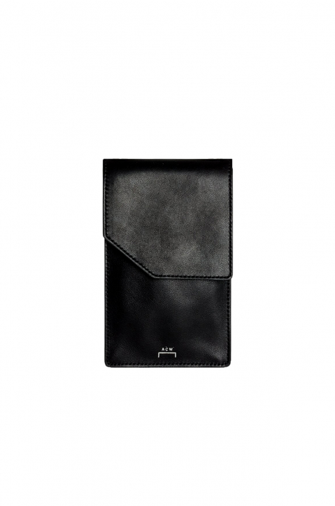 A-COLD-WALL* Black Leather Crossbody Bag 0