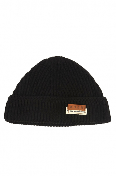 ADER ERROR Black Wool Beanie 0