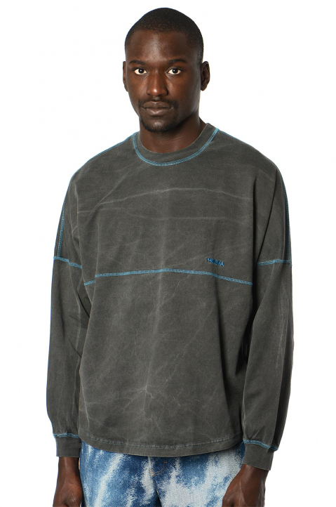 AMBUSH Football Grey LS Tee 0