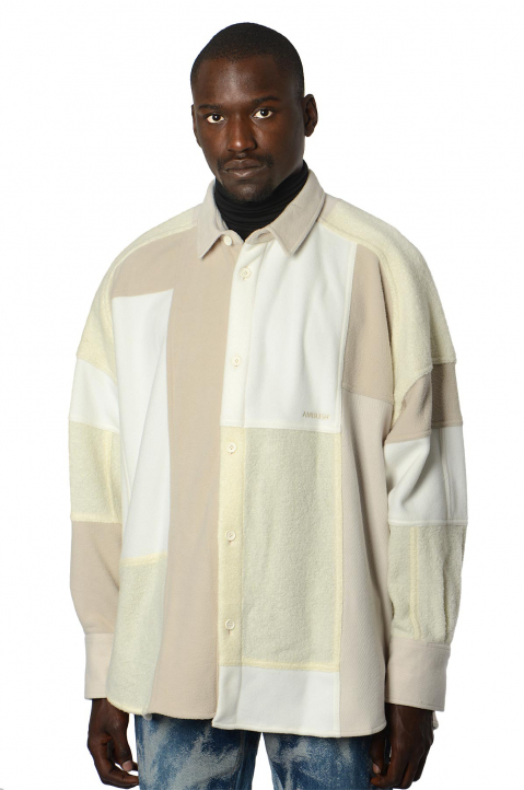 AMBUSH Patchwork White Shirt 0