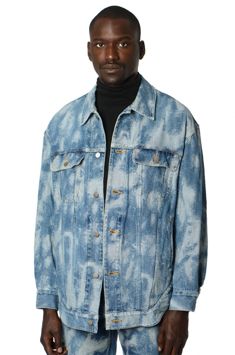 AMBUSH Denim Hybrid Jacket 0