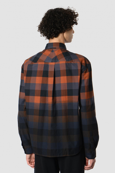 KENZO Gradient Checkered Shirt  1