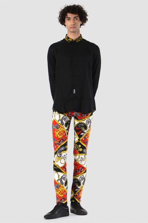 VERSACE JEANS COUTURE Fantasy Print Jeans  2
