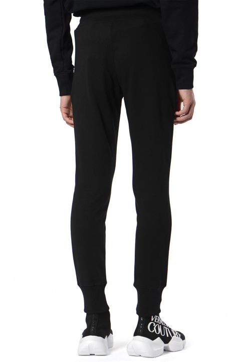 VERSACE JEANS COUTURE Logo Tape Black Joggers  1