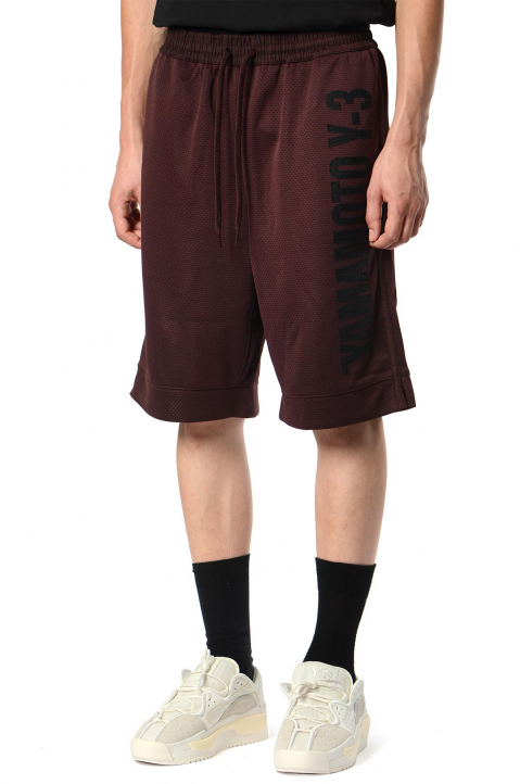 Y-3 CH2 Graphic Brown Shorts  0