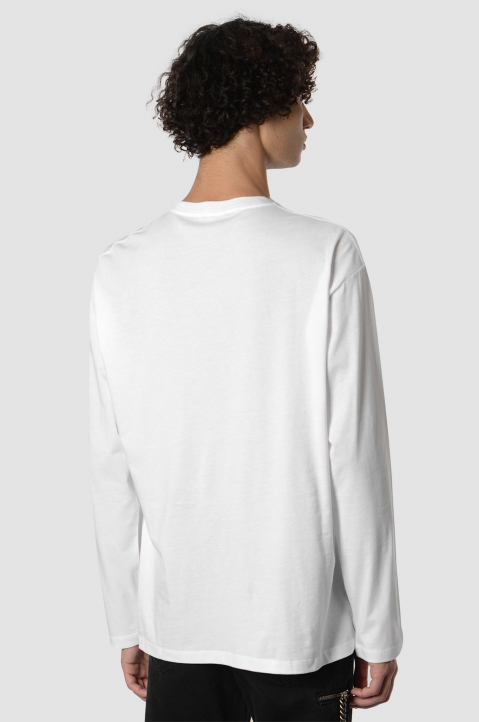 RAF SIMONS Solar Youth White LS Tee 1