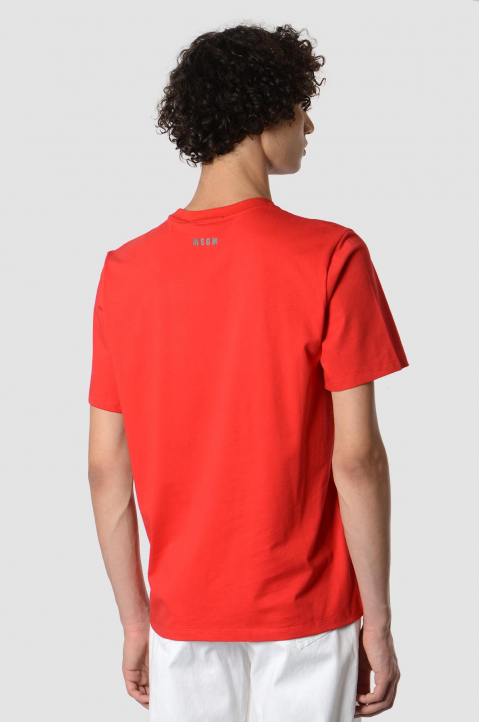MSGM Haunted Red Tee 1