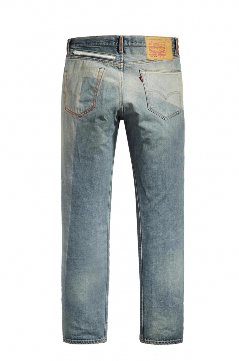 LEVI'S® X HERON PRESTON Light Blue 501 Jeans 1