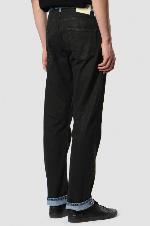 HERON PRESTON Spray Black Jeans 1