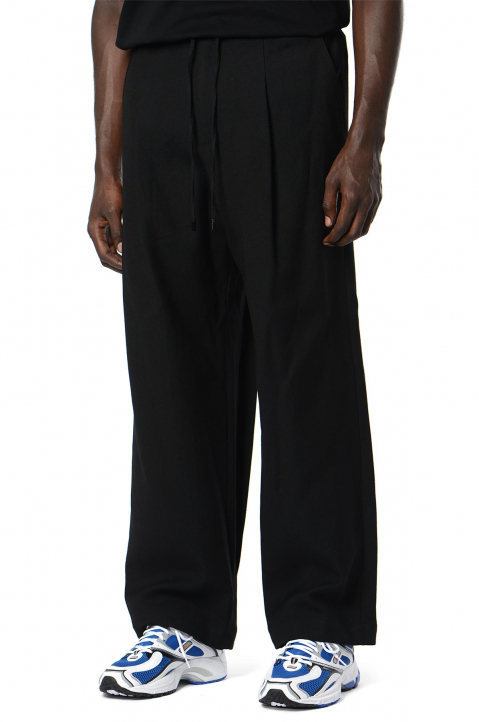JUUN.J Black Wool Trousers 0