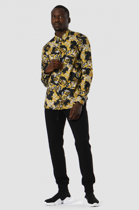 VERSACE JEANS COUTURE Logo Baroque Shirt  2