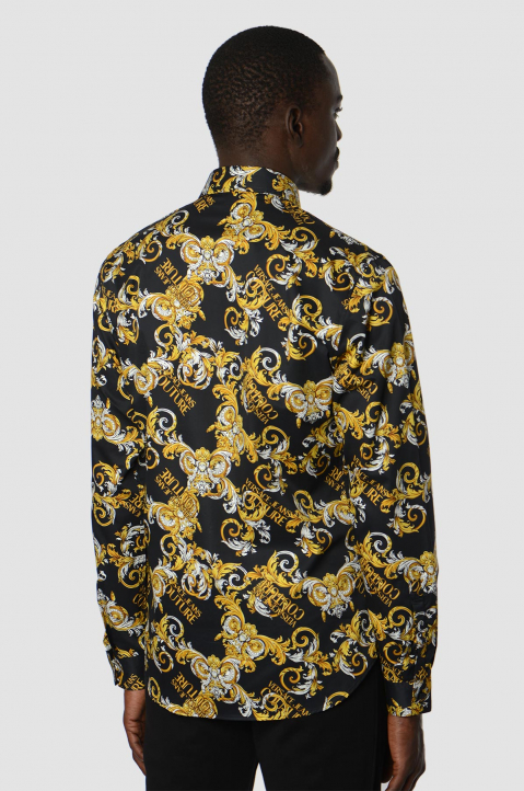VERSACE JEANS COUTURE Logo Baroque Shirt  1