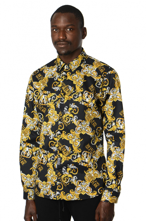 VERSACE JEANS COUTURE Logo Baroque Shirt  0