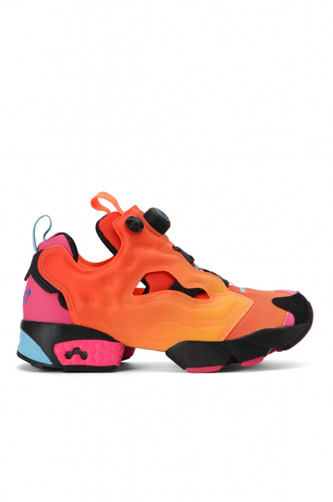 REEBOK X CHROMAT Instapump Fury Solar Orange Sneakers 0
