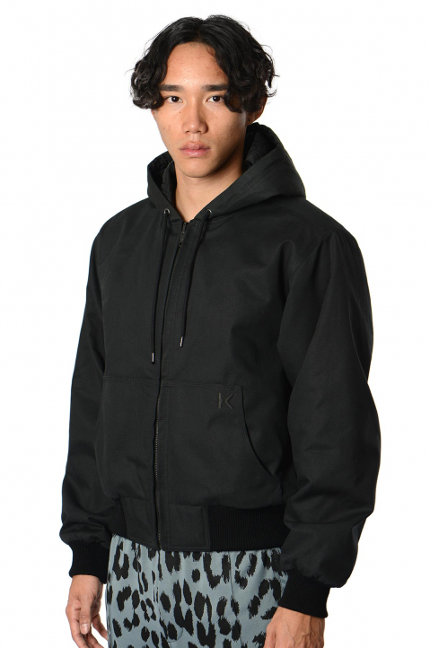 KENZO Reversible Black Windbreaker  0