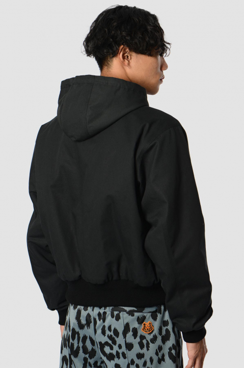 KENZO Reversible Black Windbreaker  1