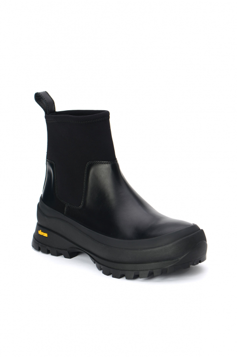 JIL SANDER Leather Chelsea Boot 1
