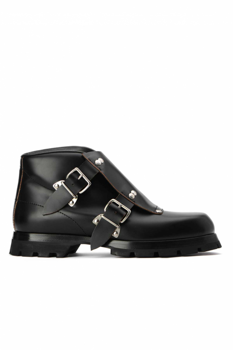 JIL SANDER Buckle Ankle Boot  0