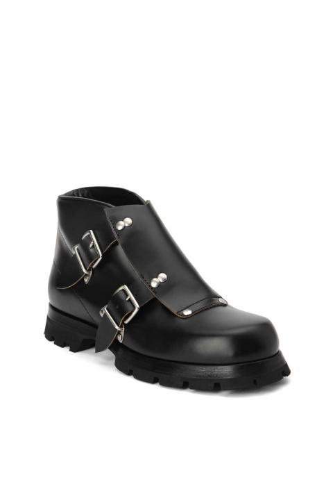 JIL SANDER Buckle Ankle Boot  1