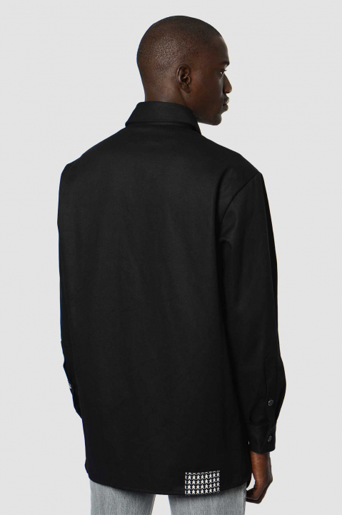 RAF SIMON Slim Black Shirt  1