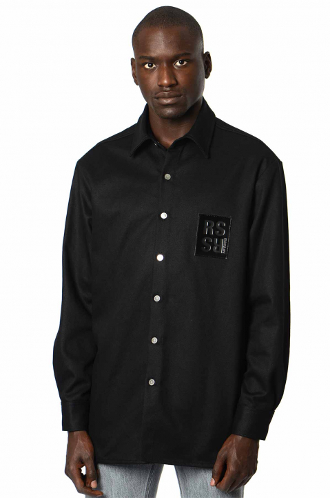 RAF SIMON Slim Black Shirt  0