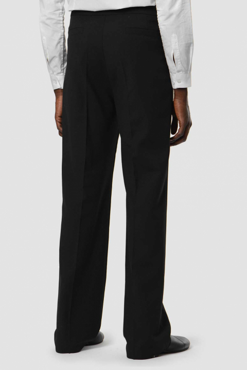 RAF SIMONS Wide Black Trousers  1