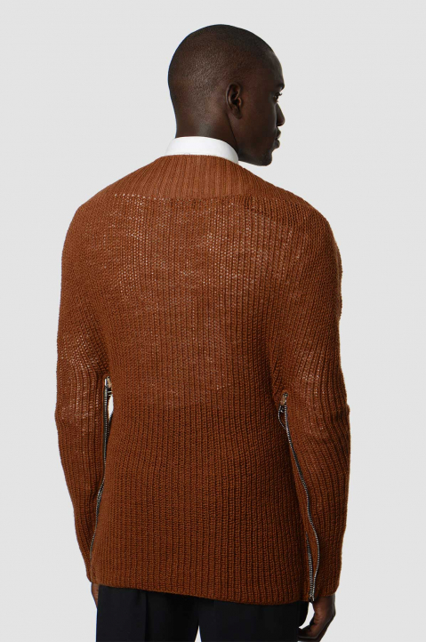 RAF SIMONS Rust Transformer Cape 1