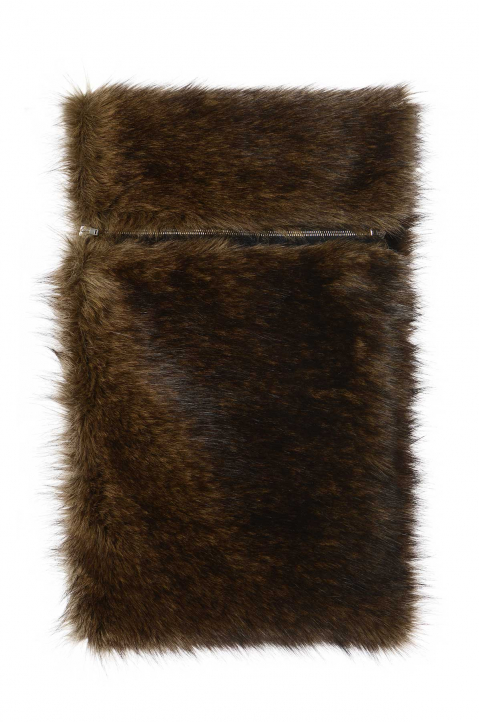 RAF SIMONS Synthetic Fur Shoulder Scarf 0