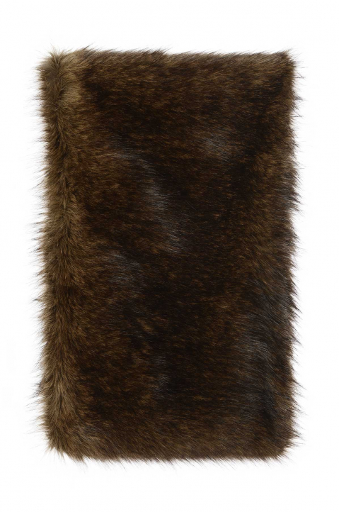 RAF SIMONS Synthetic Fur Shoulder Scarf 1